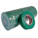 Стрічка ізоляційна PVC, зелена, 20 м.