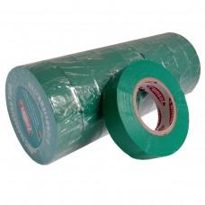 Стрічка ізоляційна PVC, зелена, 10 м.