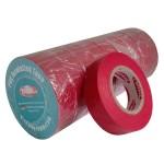 Стрічка ізоляційна PVC, червона, 20 м.