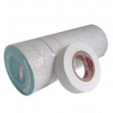 Стрічка ізоляційна PVC, біла, 10 м.