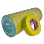 Стрічка ізоляційна PVC, жовта, 20 м.