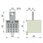 Кабельний розгалужувач 400/25 (для ВА77-1-400)