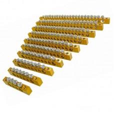 Шина нульова (заземлення) ШН (без ізолятору), 6 отворів