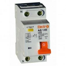Диференційний автоматичний вимикач АД1-63