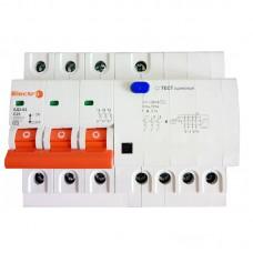 Вимикач диференційного струму АД2-63, 20А, 30мА