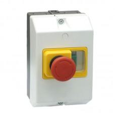 Корпус пластиковий з кнопкою КП80-РВ2 до АЗД1-80 (IP65)