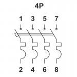 ВА1-63, 4.5кА, 4п, 25А, С