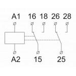 Реле затримки включення «зірка-трикутник», РКН8-152
