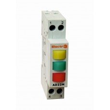 Індикатор фаз AD 22M (3 індикатора 400 В)