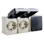 Електрофурнітура серії ВС20 (IP54)