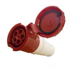Розетка силова переносна, РС-245, 3P+PE+N, 125А