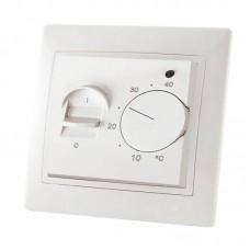 """Термостат для систем """"тепла підлога"""" ТТП, 16А (250В) з датчиком 3 м, білий"""