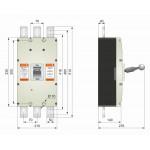 Автоматичний вимикач ВА77-1-1600