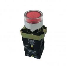 Кнопка нажимна з підсвіткою PB2-ВW3461, червона