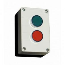 """Пост кнопковий двомісний """"старт-стоп"""", зелена+червона"""