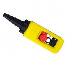 Пульт кнопковий тельферний, ПКТ 2 кнопки + СТОП, IP65