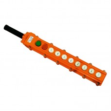 Пульт кнопковий тельферний, ПКТ 10 кнопок (8+Старт+Стоп), IP65
