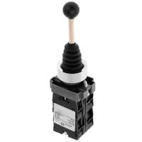 Кнопка-маніпулятор (перемикач) на 4 напрямки з самоповерненням, PB2-A24, 4NO