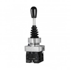 Кнопка-маніпулятор (перемикач) на 2 напрямки з фіксацією, PB2-A12, 2NO