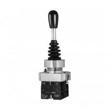 Кнопка-маніпулятор (перемикач) на 2 напрямки з самоповерненням, PB2-A22, 2NO